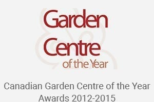 Canadian Garden Centre of the Year Awards 2012-2015